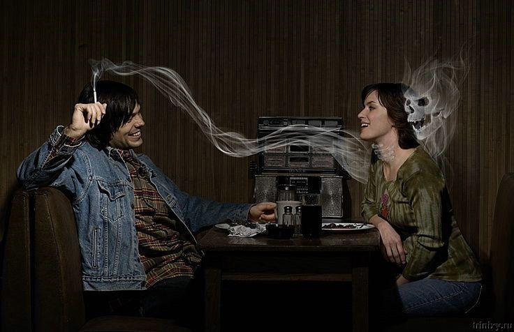 欧洲意识二手烟广告